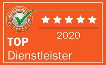 Badge Dienstleister 2020